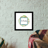 Be thankful! Premium Square Italian Wooden Frames | Artist : Bukxa