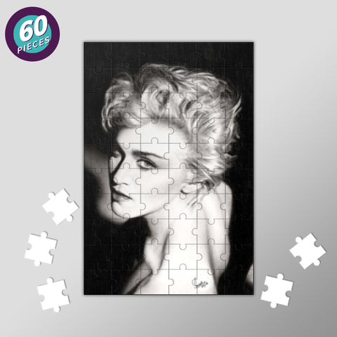 Madonna: The Queen of Pop Jigsaw Puzzles | Artist : Swati Aggarwal