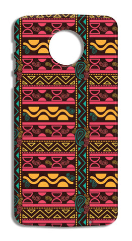Abstract geometric pattern african style Moto Z Force Cases | Artist : Designerchennai
