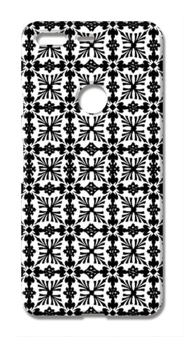 Classic Black And White Checkered Decorative Pattern Google Pixel XL Cases | Artist : Seema Hooda