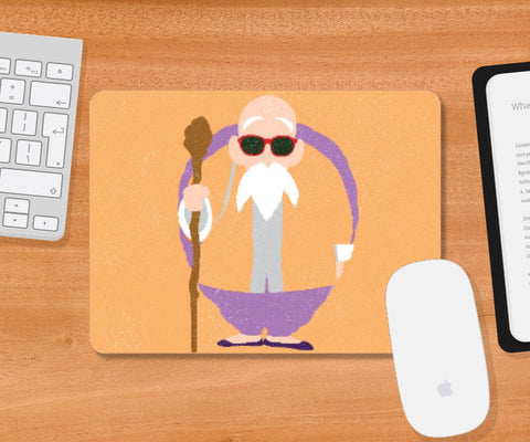Mousepad, Master Roshi Dragon Ball Mousepad | Rishabh Bhargava, - PosterGully