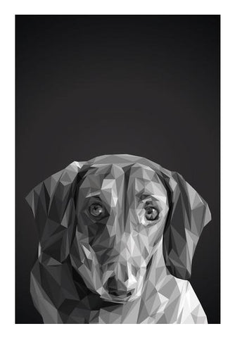 PosterGully Specials, Dachshund ( Dog Lovers) Wall Art | Artist : Amantrika Saraogi, - PosterGully