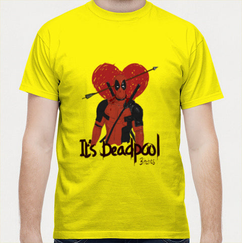 Men T Shirts, Deadpool Men T Shirts | Artist : desiGuy, - PosterGully - 1