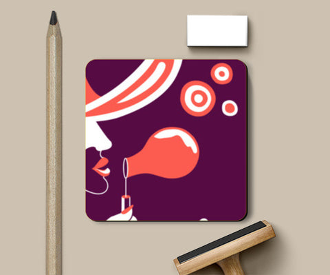 Troubles be bubbles Coasters | Artist : Vishali Bawa