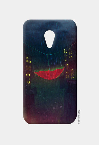 Night Rain Moto G2 Cases | Artist : Aniket Mitra