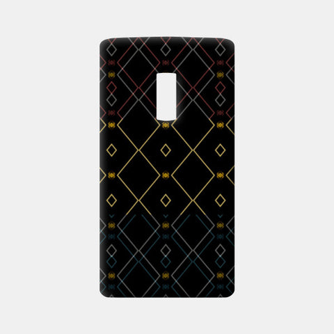 Pattern design in black One Plus Two Cases | Artist : Amar Singha