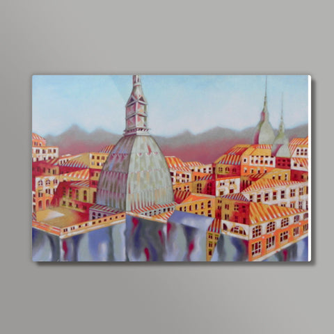 Memory of Turin Metal Prints | Artist : federico cortese