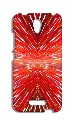 Abstract Red Burst Modern Design Redmi Note 2 Cases | Artist : Seema Hooda