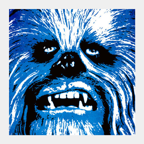Square Art Prints, Wookie Square Art Prints | Artist : Durro Art, - PosterGully