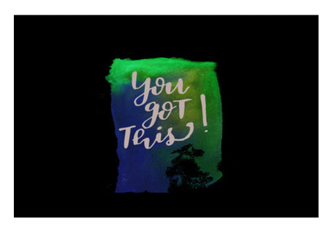 You got this! Wall Art  | Artist : Bukxa