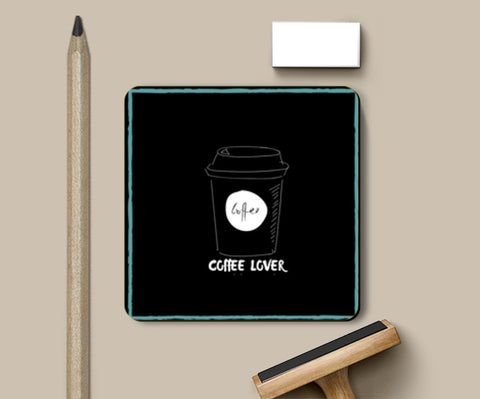 PosterGully Coasters, Coffee Lover Coasters | Artist : Pallavi Rawal, - PosterGully