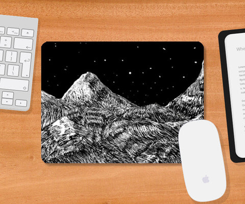 Starry Mountain Mousepad | Artist : Mohammed Chiba