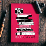 Bookstagram (Rose Red) | Artist: Aparna Singh Notebook | Artist : My doodles ate me… om nom
