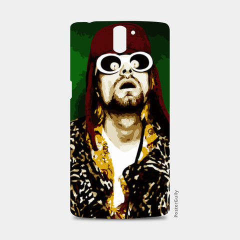 KURT COBAIN NIRVANA One Plus One Cases | Artist : Archit Bansal