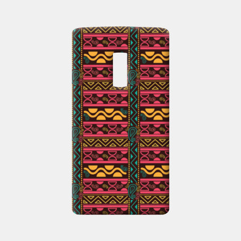 Abstract geometric pattern african style One Plus Two Cases | Artist : Designerchennai