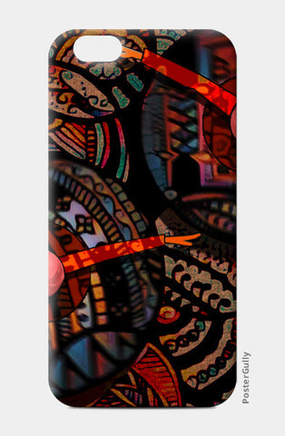 Dancing with colors iPhone 6/6S Cases | Artist : Karthik Gowrisankar