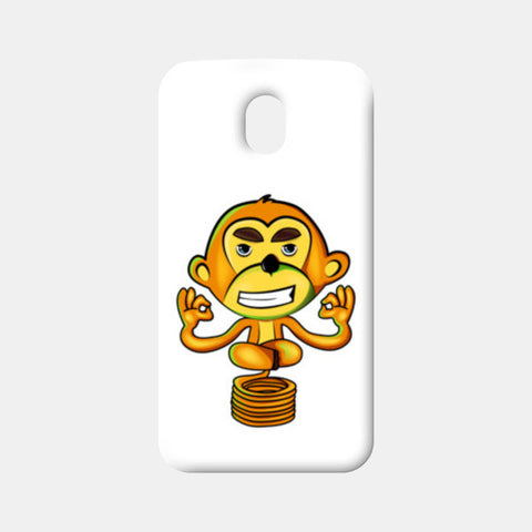 Moto G3 Cases, Yogi Monkey Moto G3 Cases | Artist : Archana Aravind, - PosterGully
