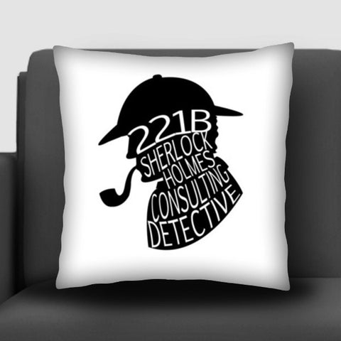 Sherlock Holmes, Consulting Detective Cushion Covers | Artist : An Aliens Art