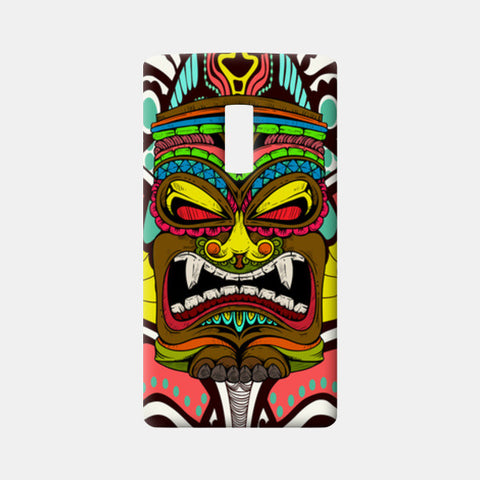 Tiki Monster One Plus Two Cases | Artist : Pulkit Taneja