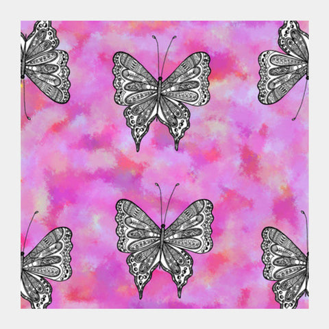 Butterfly Patterns Square Art Prints PosterGully Specials