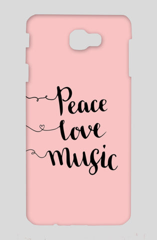 Peace Love Music Samsung On Nxt Cases | Artist : Inderpreet Singh