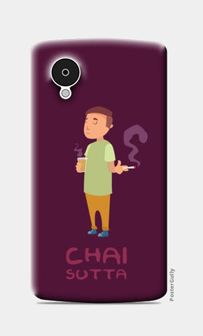 Nexus 5 Cases, Chai aur Sutta Nexus 5 Case | Ronak Mantri, - PosterGully