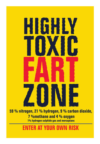 Wall Art, funny-fart zone Wall Art | Artist : abhijeet sinha, - PosterGully