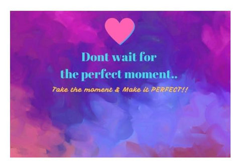 PosterGully Specials, Perfect Moment Wall Art  | Artist : Pallavi Rawal, - PosterGully