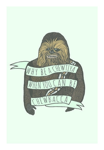 Chewbacca Art PosterGully Specials