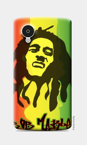 Nexus 5 Cases, Bob Marley Nexus 5 Case | Artist: Jayant rana, - PosterGully