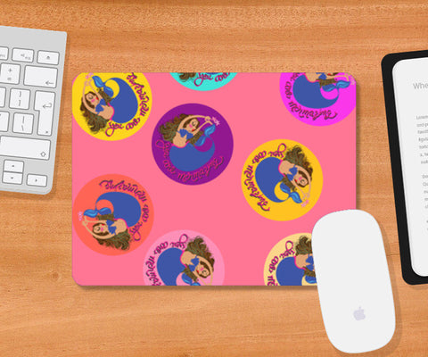 mermaid tiles Mousepad | Artist : parul dang