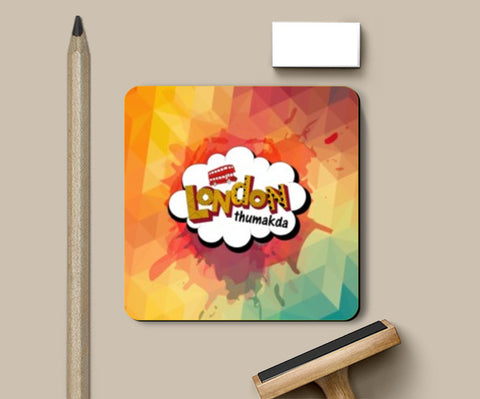 Coasters, London Thumakda Coasters | Artist : Janhavi Bijur, - PosterGully