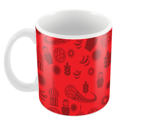 Russia Art Fifa | #Footballfan Coffee Mugs | Artist : Creative DJ