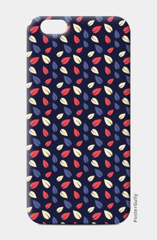 Seamless leaves multicolor vector pattern iPhone 6/6S Cases | Artist : Designerchennai