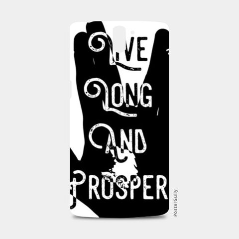 Live Long And Prosper One Plus One Cases | Artist : Anshul Patria