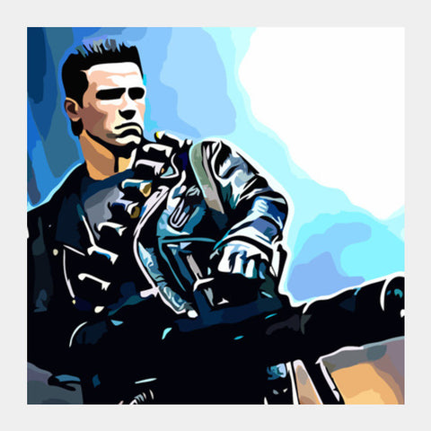 Terminator Square Art Prints PosterGully Specials