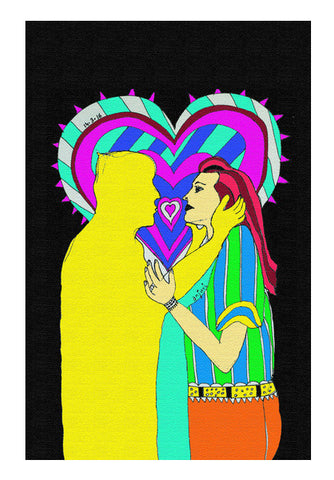 """Love Me, Will ya?"" Wall Art 