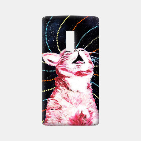 One Plus Two Cases, Cosmic Cat on Acid One Plus Two Cases | Artist : Aashna Aasif, - PosterGully