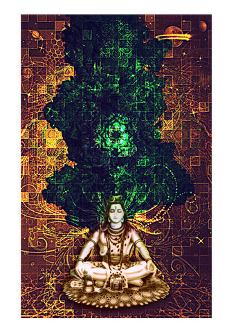 Shiva in, Shiva out Wall Art | Artist : Rockpire Designs