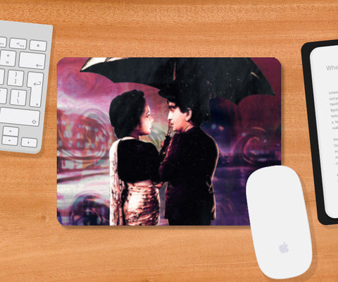 Shree 420 Oil Caricature Mousepad | Artist : Deepak Gupta