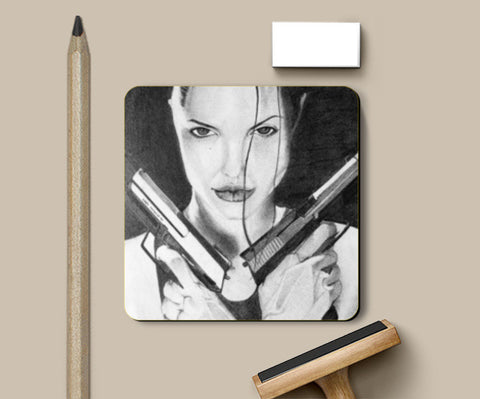 Coasters, Angelina Coasters | Artist : Sumedha Sonti, - PosterGully
