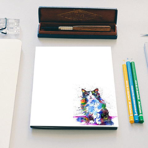 CLARITY | ARTWORK | CAT  Notebook | Artist : Prashant Singh