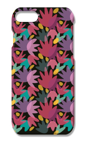 PINK FLORAL  iPhone 7 Plus Cases | Artist : looshmoosh