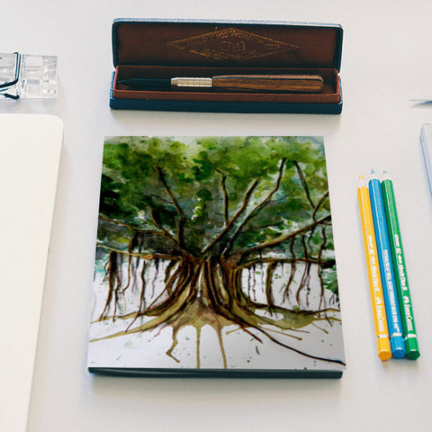 Banyan Tree Notebook | Artist : Tara Isha