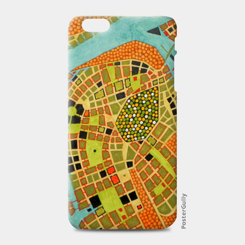 iPhone 6 Plus / 6s Plus Cases, imaginary map of Koblenz iPhone 6 Plus / 6s Plus Cases | Artist : federico cortese, - PosterGully