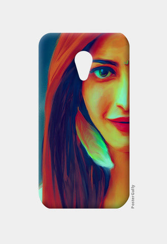 Shruti Hassan Moto G2 Cases | Artist : Delusion