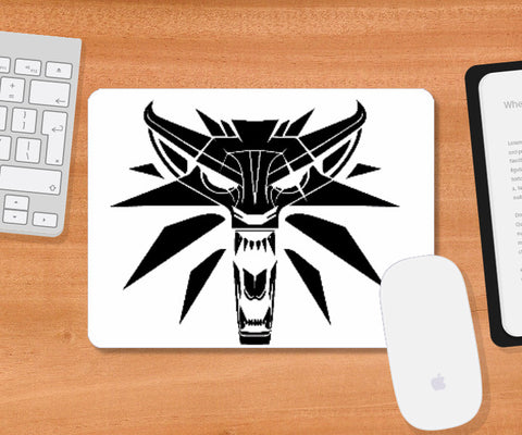 Mousepad, Witcher Roar | Artist: GamingMonk, - PosterGully