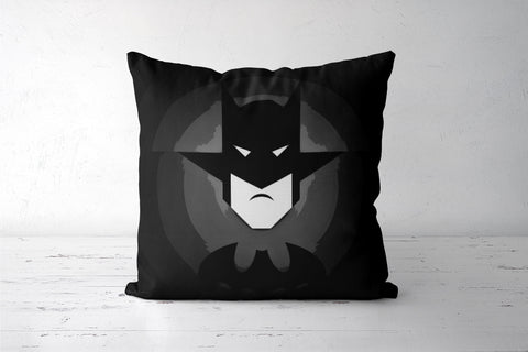 Mr. Bat Black Cushion Covers | Artist : Jax D