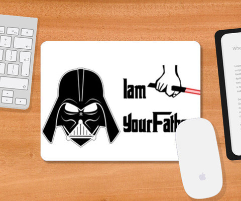 Mousepad, Darth Vader - I am your father. Star Wars Mousepad | Artist : Nupur Joshi, - PosterGully