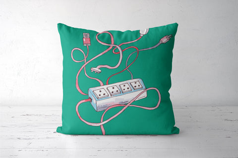 Wireless Cushion Covers | Artist : Deepikah Bhardwaj